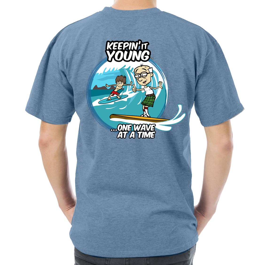 Keepin It Young Surf T-shirt