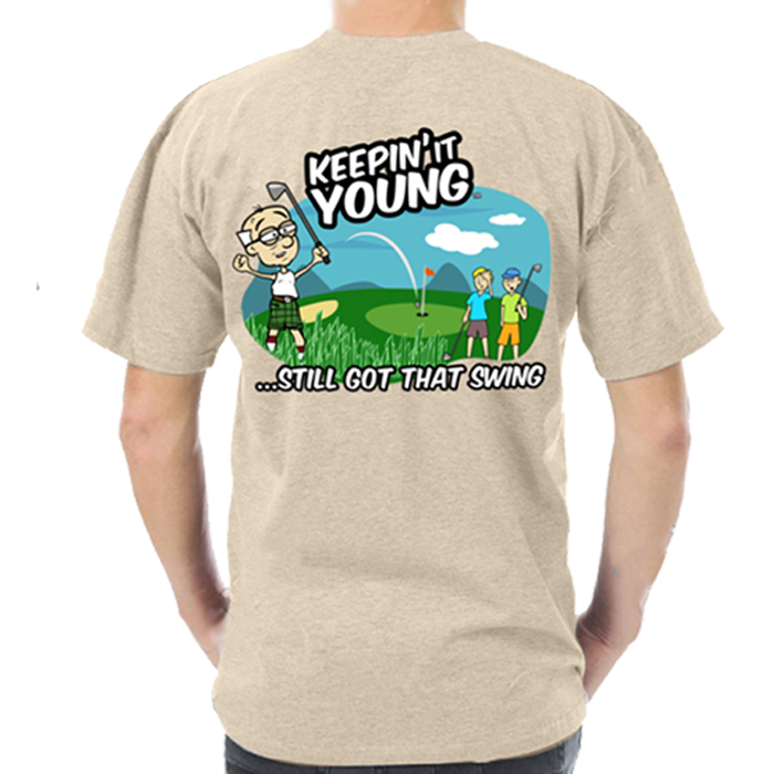 Keepin It Young Golf T-shirt