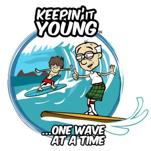 Keepin it Young - Surfing T-shirt