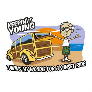 Keepin it Young - Woodie T-shirt